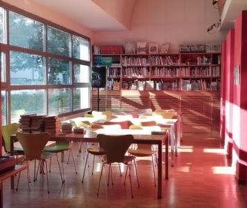immagine sala studio biblioteca Quarrata