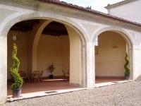 Immagine dell'interno della tinaia di Villa La Màgia (222.77 KB)