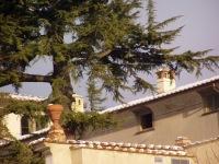 La Màgia innevata - fotografia con particolare della Villa (268.75 KB)